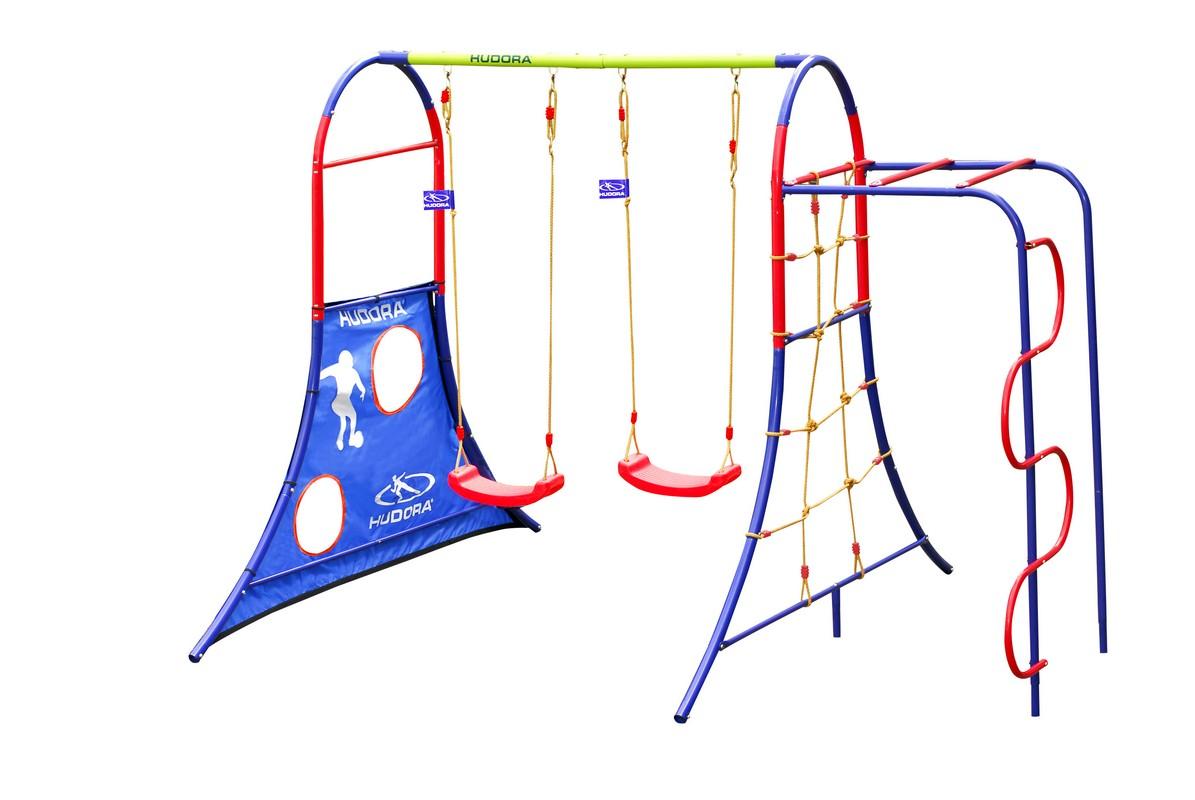 Детский игровой спортивный комплекс Hudora 64019 спортивные игровые наборы hudora спортивный игровой набор