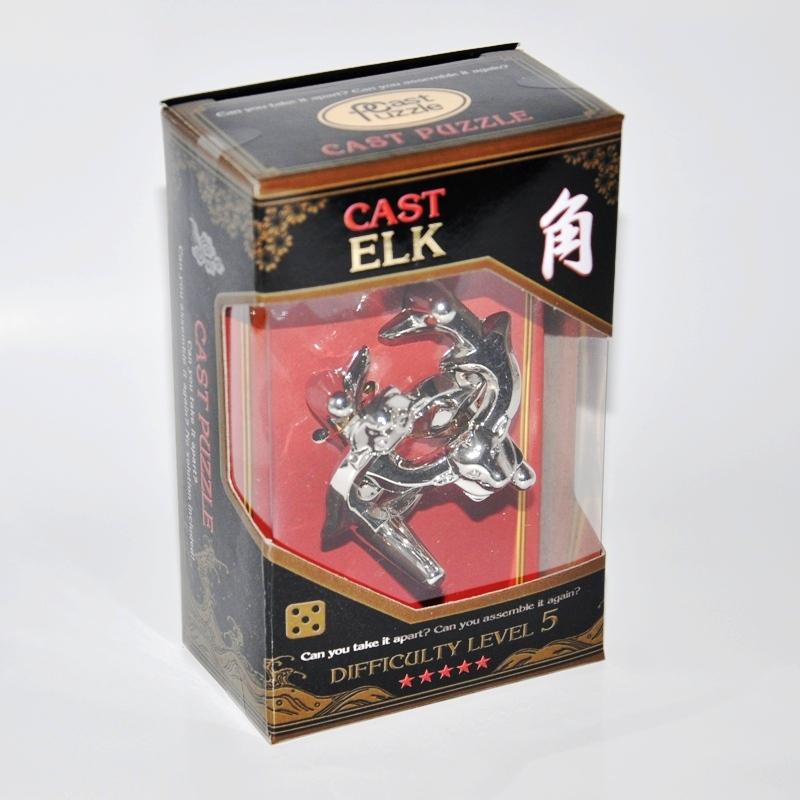 Купить Головоломка Рога*****/ Cast Puzzle Elk*****, NoBrand