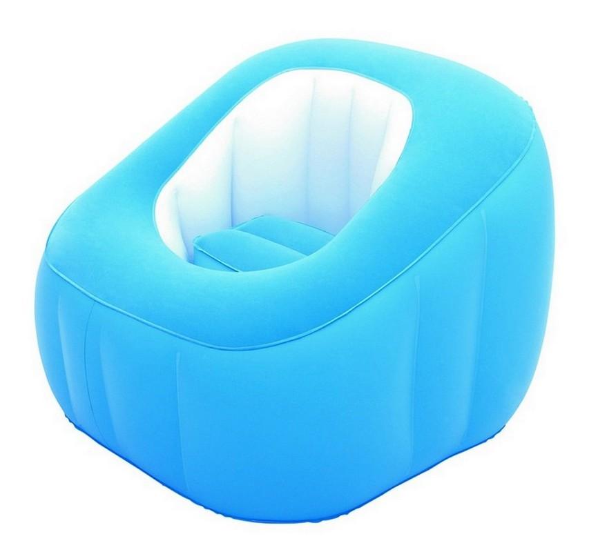 Купить Надувное кресло Comfi Cube 74х74х64 см BestWay 75046, Bestway