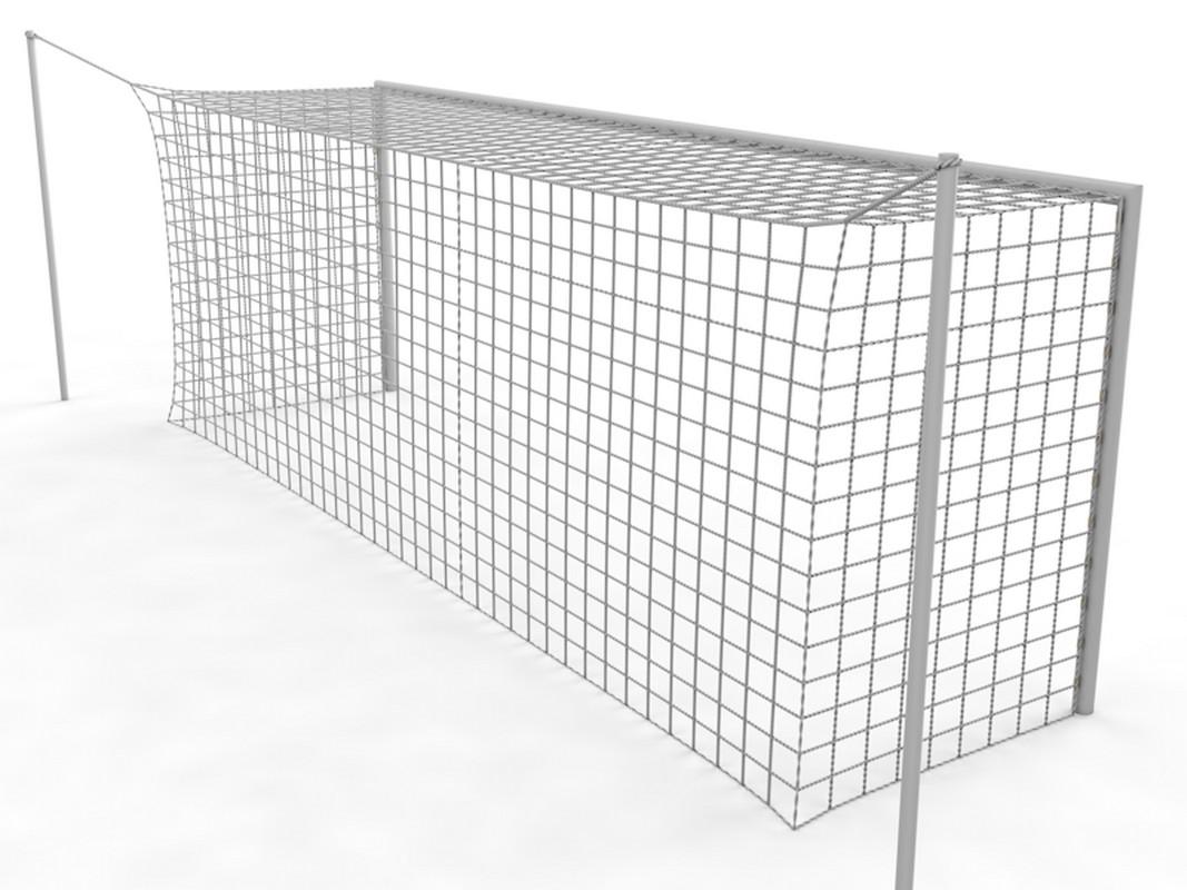 Купить Ворота футбольные стационарные с стойками натяжения для сетки Glav 15.104 (732x244) шт,