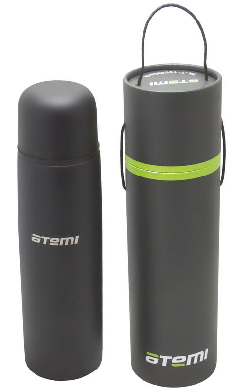 Термос 1л Atemi TA-T-1000 black 25881 термос нерж 1л цветноймв 1140635