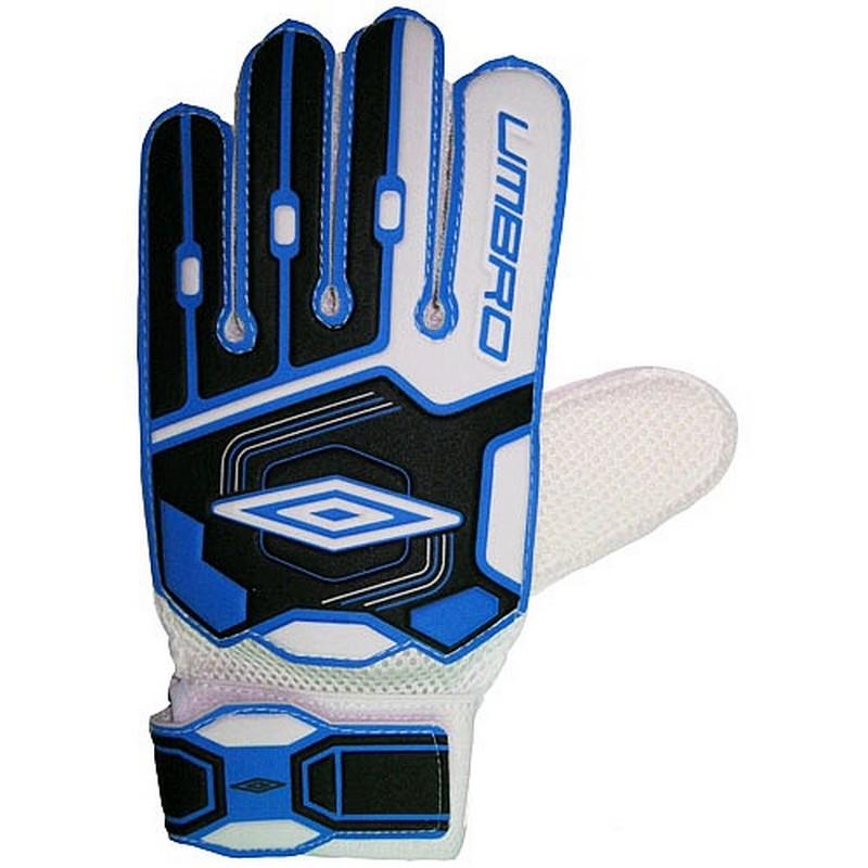 Перчатки вратарские Umbro Stopper Glove 503040-498 сине-черно-белый