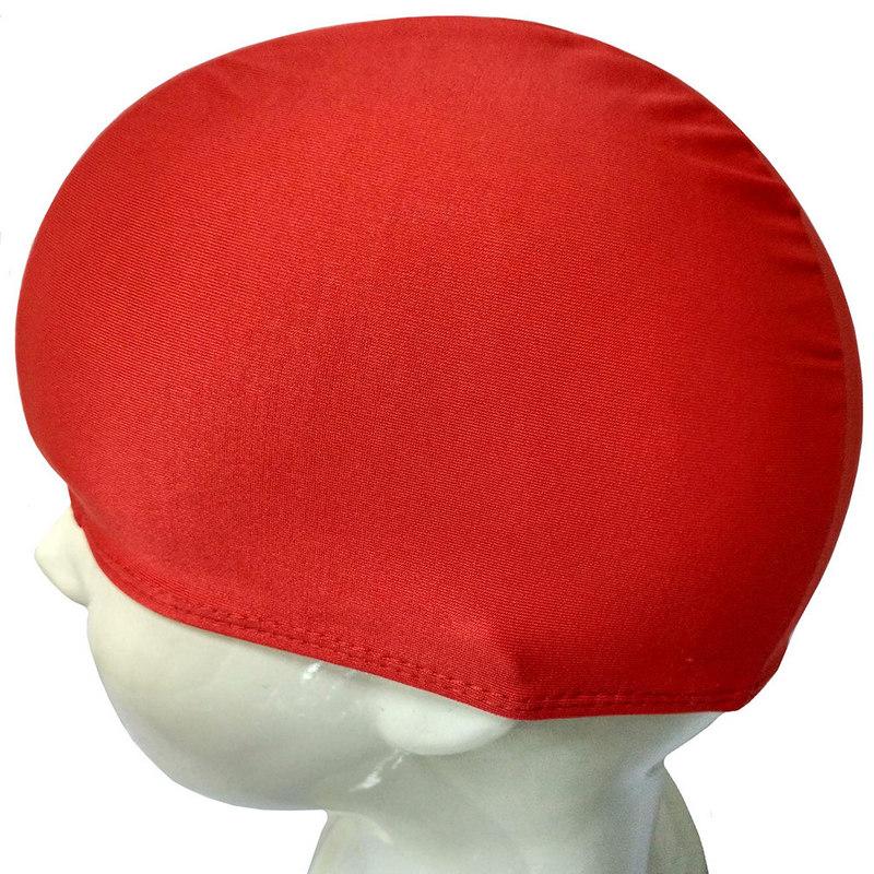 Купить Шапочка для плавания текстиль детская (красная) B26291, NoBrand