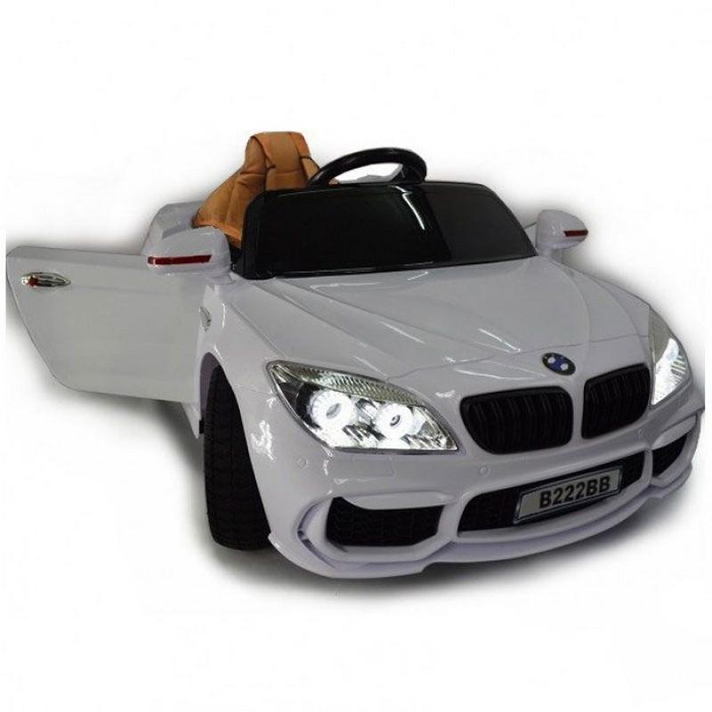 Детский электромобиль River-Toys BMW В222ВВ с дистанционным управлением White