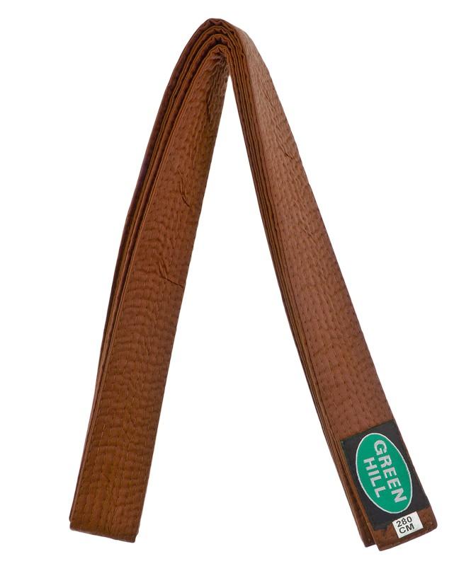 Купить Пояс для единоборств Green Hill KBO-1014, 5/280, коричневый,
