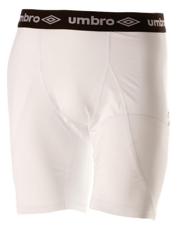 Лосины Umbro Baselayer Short короткие мужские (016) бел/чер.