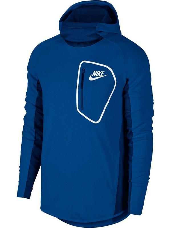 Толстовка мужская Nike Sportswear Advance 15 Hoodie 885935-465, синяя