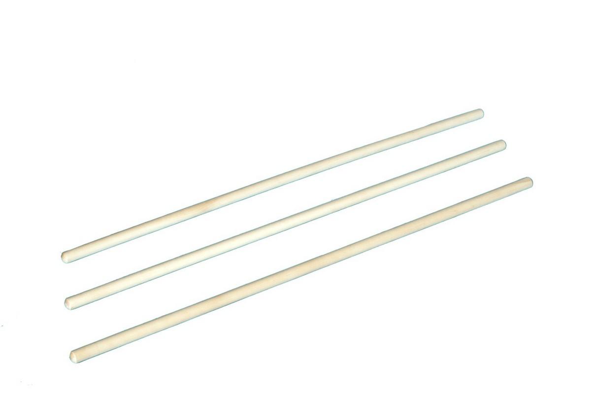 Палка гимнастическая ФСИ деревянная, 1000мм, диаметр 28мм,  - купить со скидкой