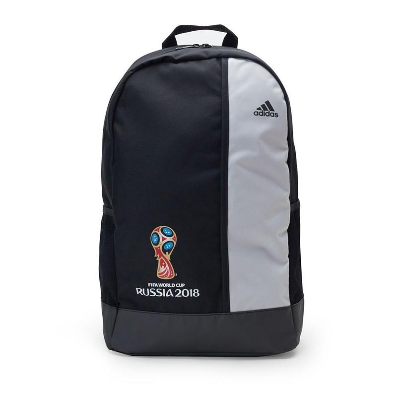 Рюкзак Adidas FIFA World Cup Official Emblem CF3397, с карманом на молнии, черно-серый