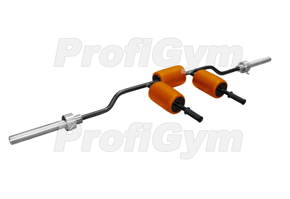 Купить Гриф для штанги параллельный ProfiGym L210 см D30 мм ГрС-0020-K,