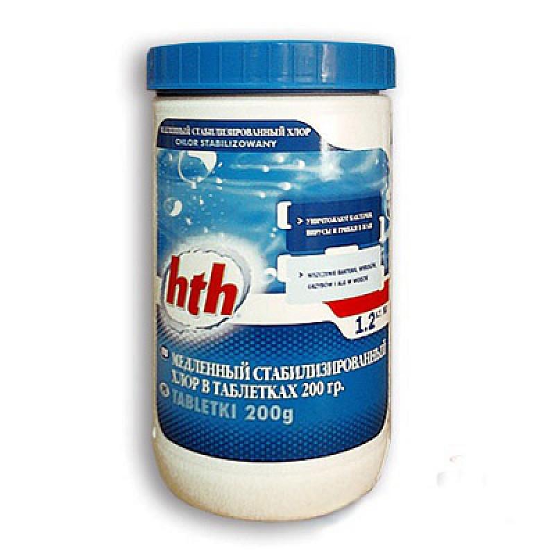 Купить Медленный стабилизированный хлор HtH Maxitab Regular C800501H2,