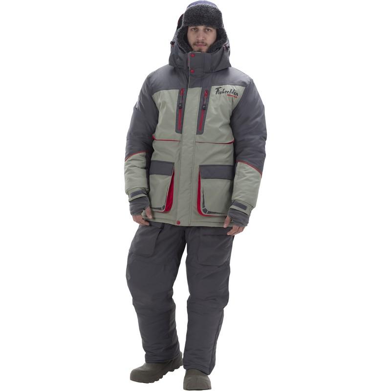 Костюм Fisherman Норд V2 зимний (до -35°С) 95848-560 серый/олива