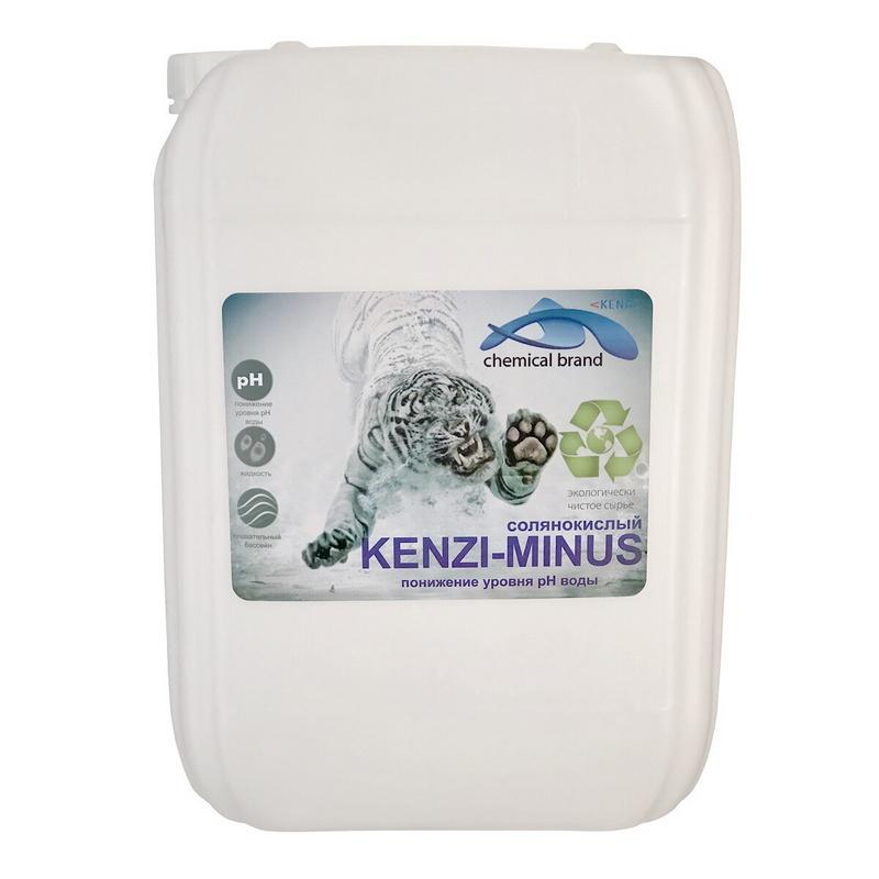 Купить Кензи-Минус Kenaz солянокислый 14% 30л,