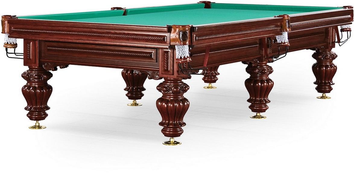 Стол / пирамида Weekend Billiard Company Turin 9 ф (вишня, 6 ног, плита 38мм ) 55.984.09.0