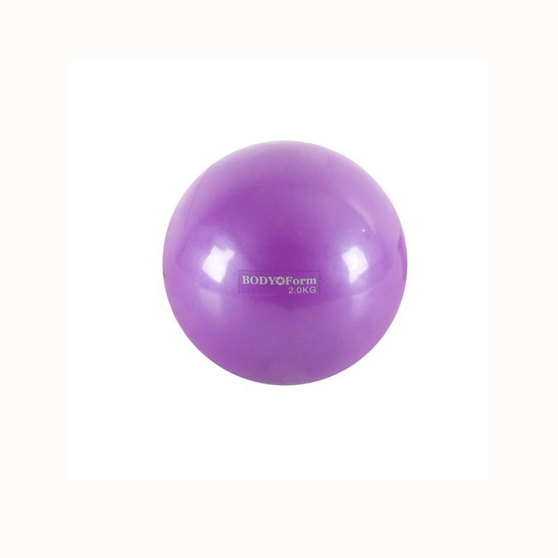 Мяч для пилатеса Body Form BF-TB01 2,0 кг D=13 см фиолетовый