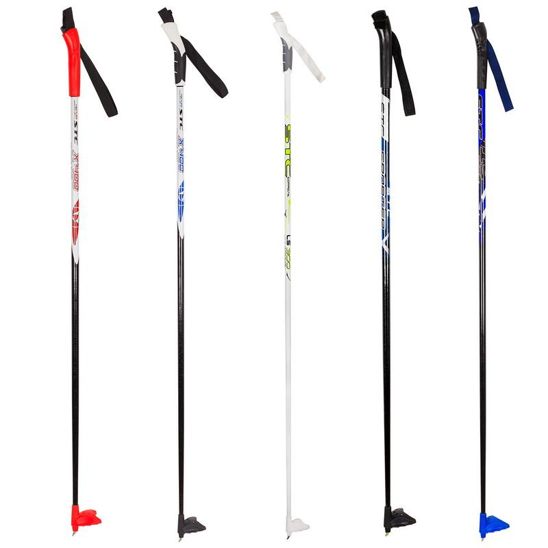 Палки лыжные STC Sonata стеклопластиковые