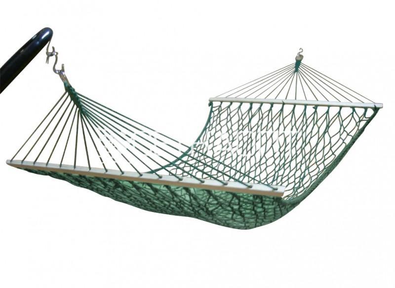 Гамак плетеный 20W02-G, зеленый