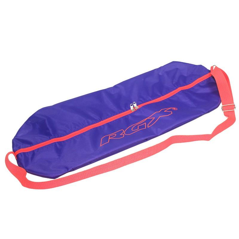 Сумка для пенниборда RGX BP-1 фиолетовый сумка для мини круизера larsen 63x26cm orange
