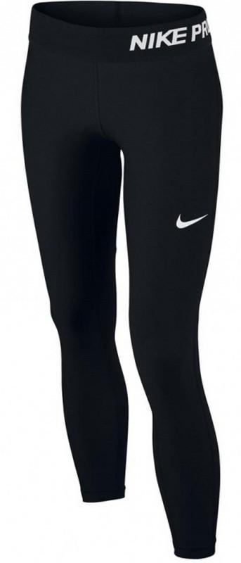 Тайтсы детские Nike Pro Cool Tight 743730-010, черные тайтсы женские nike pwr tght window panel 890668 010 черные