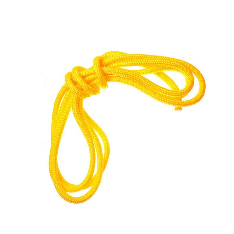 Скакалка гимнастическая Body Form BF-SK05 2,5м, 130гр. Желтый