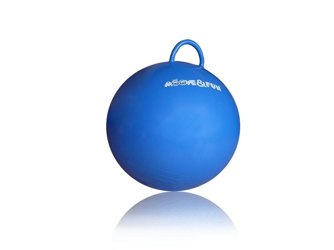 Мяч-попрыгун Moove Fun с ручкой, диаметр 45 см MF-HPB-45-01 мяч попрыгун veld co с одной ручкой 50 см