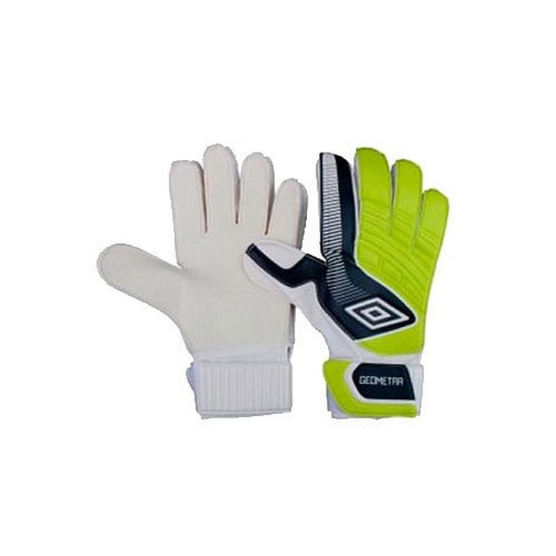 Перчатки вратарские Umbro Geometra cup glove 2014, 20390U-DF9 желто-т.серый-белый