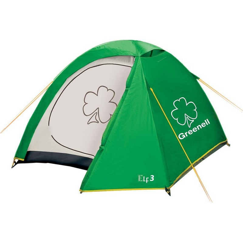 Палатка для путешествий трёхместная Greenell Эльф 3 V3