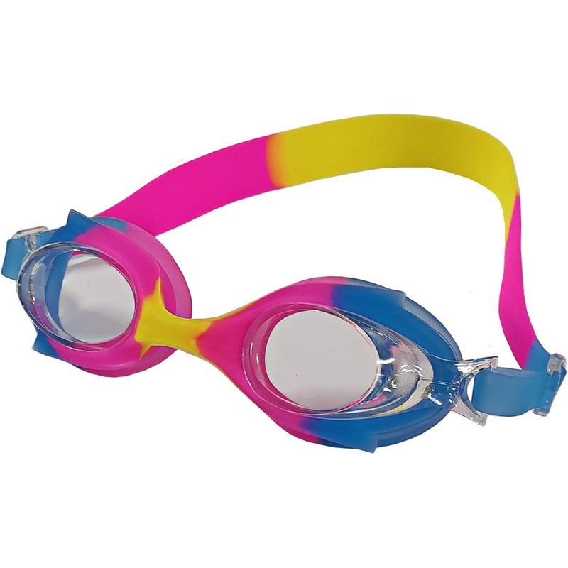 Купить Очки для плавания B31524-5 мультколор (синерозовожелтый Mix-2), NoBrand