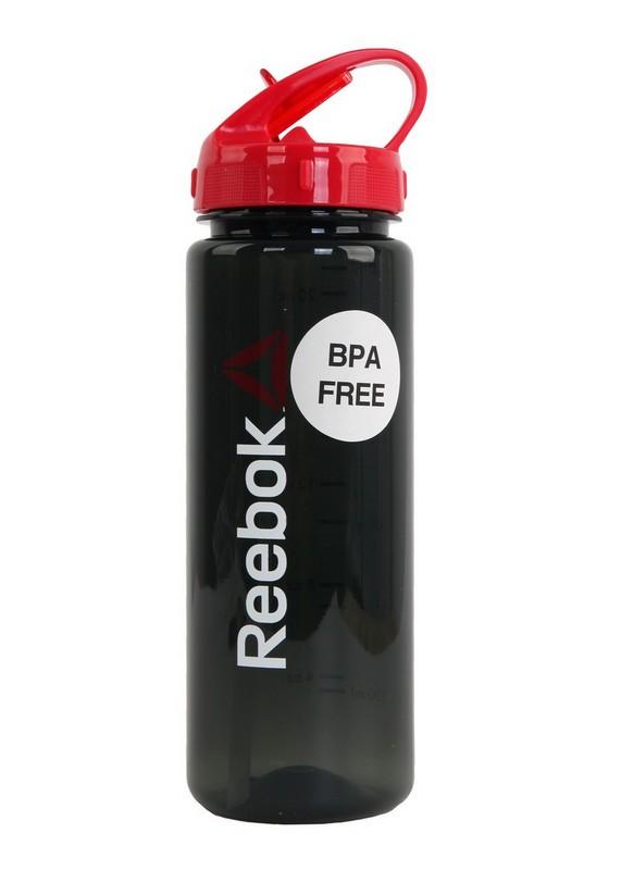 Бутылка для воды Reebok RABT-P65BK Wordmark 0,65 черная
