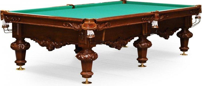 Купить Стол пирамида Weekend Rococo 10 ф 55.989.10.3 орех пекан, Billiard Company