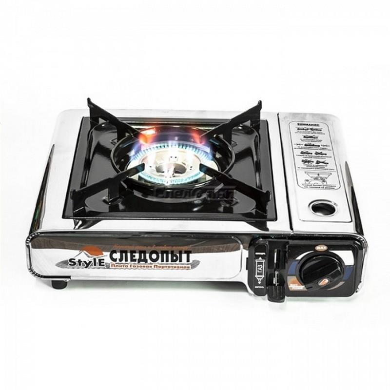Плита настольная газовая Следопыт Style PF-GST-N07 все цены