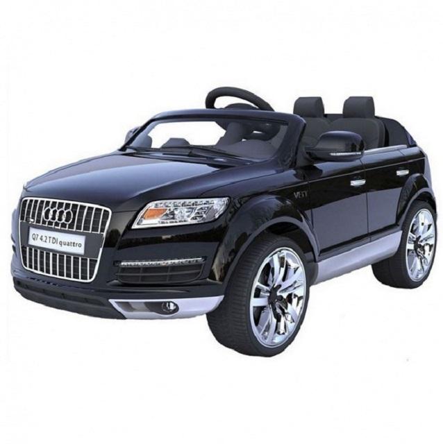 Электромобиль Audi Q7 Weikesi HLQ7 черный металлик