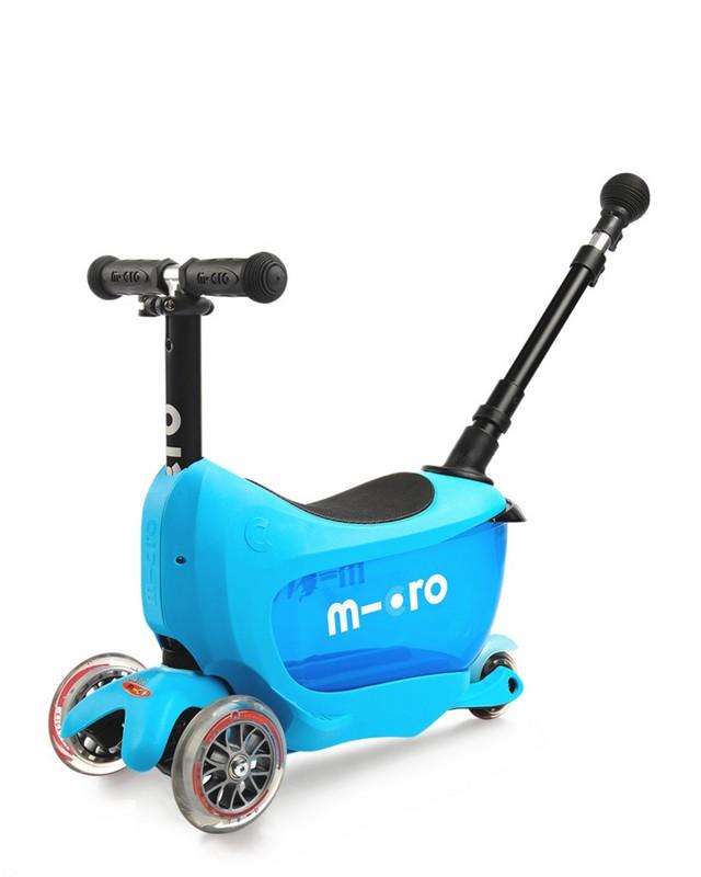 Самокат Micro Mini2go Deluxe Plus Blue