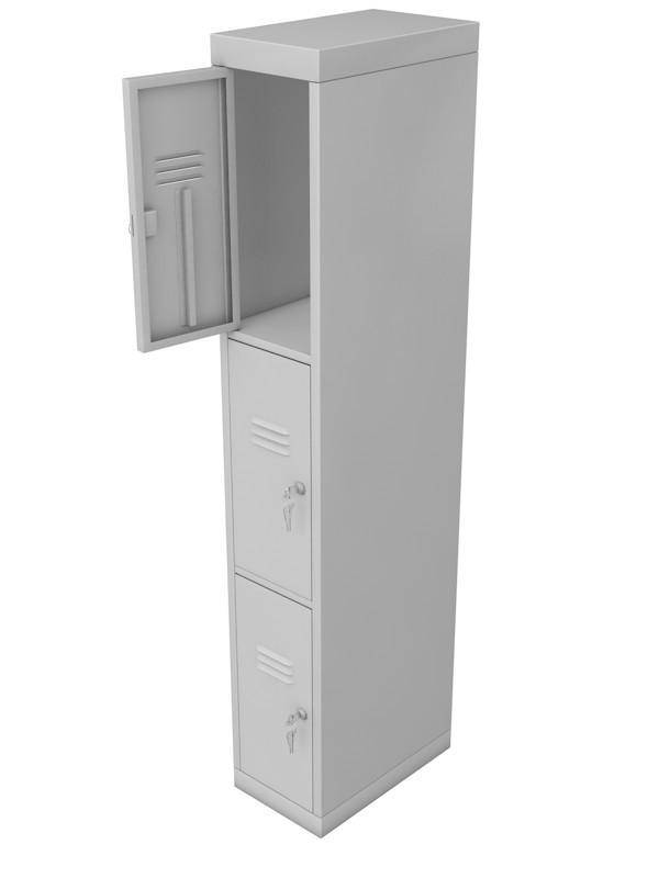Шкаф для раздевалок металлический Glav 10.2.15