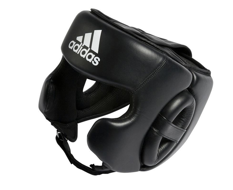 Шлем боксерский Adidas Training Head Guard черный adiBHG031