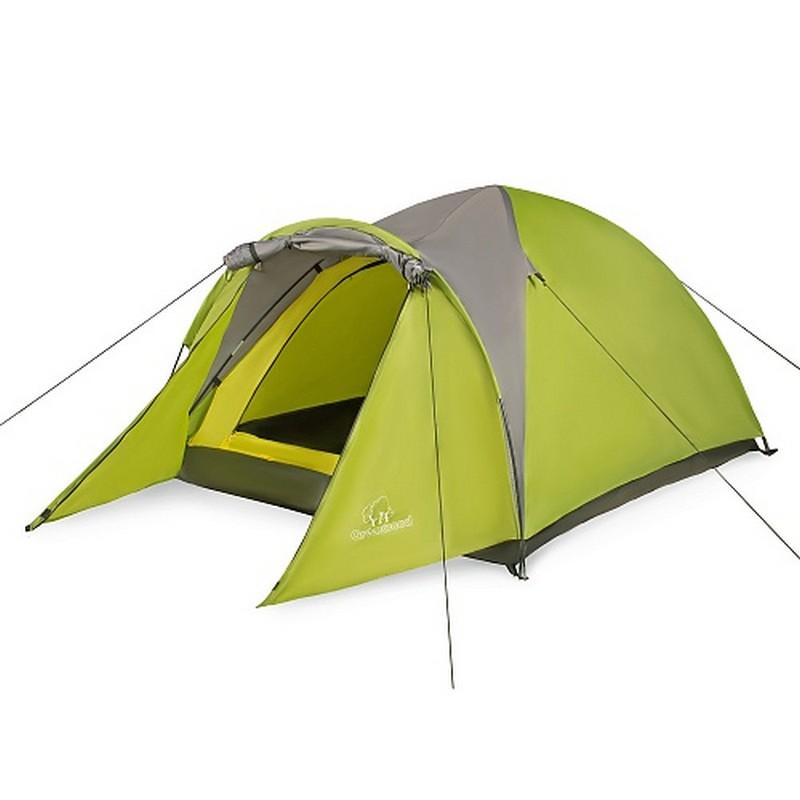 Палатка 2-м Greenwood Target 2 зеленый/серый