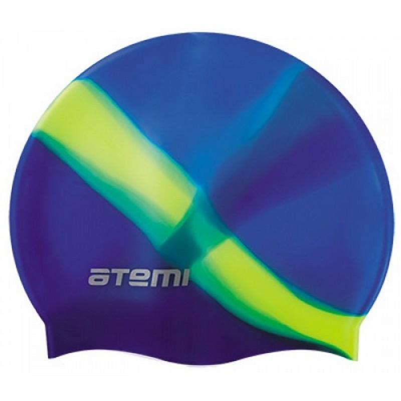 Купить Шапочка для плавания Atemi MC407 мультиколор,