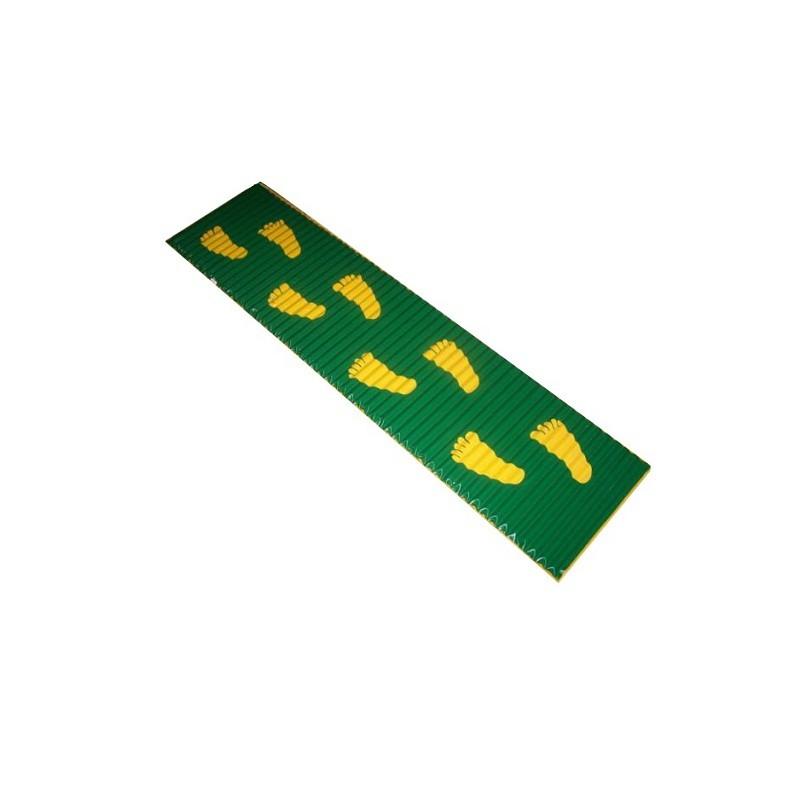 Коврик массажный со следочками 180х40 см М705Д цена