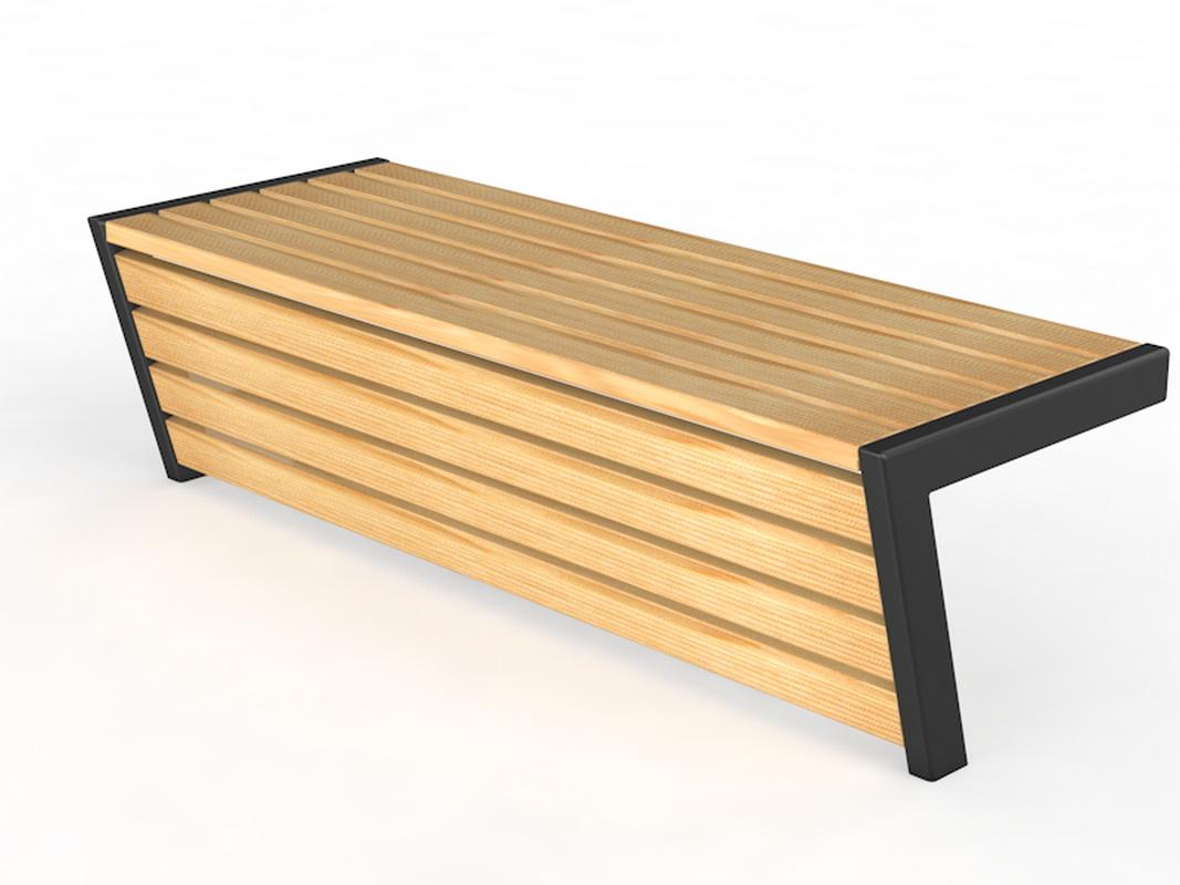 Купить Уличная скамейка без спинки Консоль Glav 14.6.300,