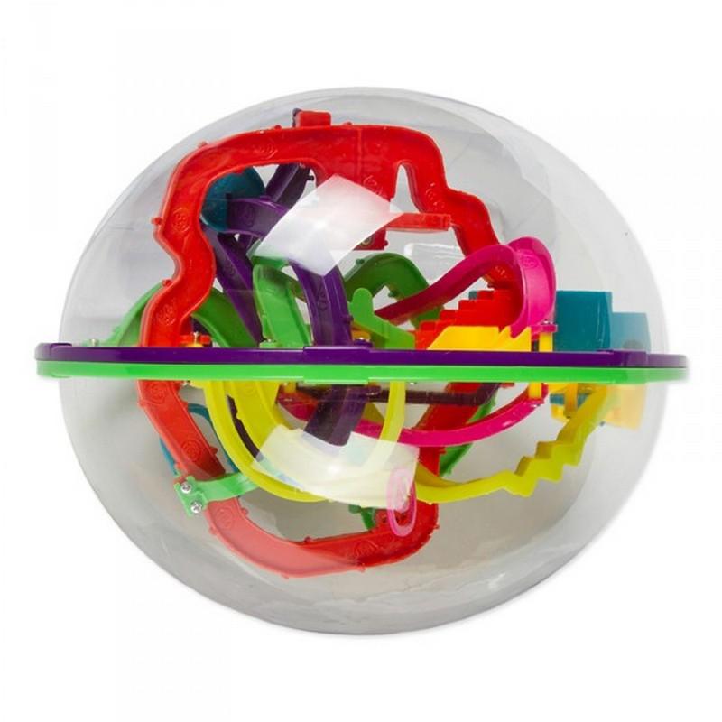 Головоломка Track Ball Шар-лабиринт 208 ходов, диаметр 22см аддиктаболл шар лабиринт малый