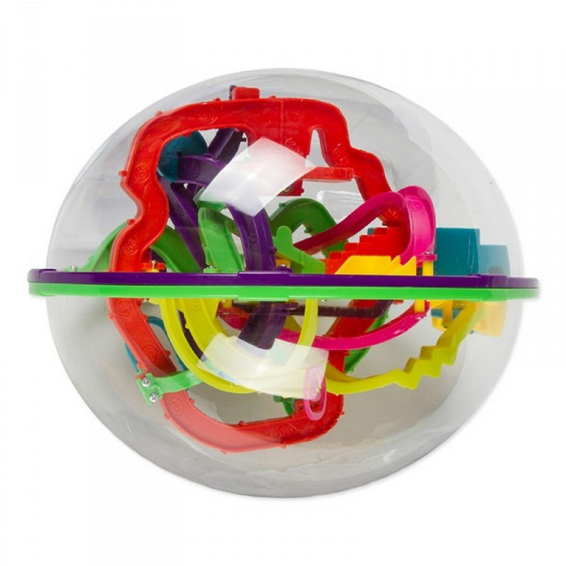Купить Головоломка Track Ball Шар-лабиринт 208 ходов, диаметр 22см, NoBrand