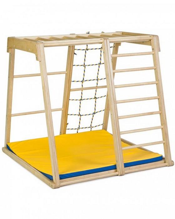 Деревянный игровой комплекс Kidwood Парус спортивные комплексы kidwood скалодром деревянный