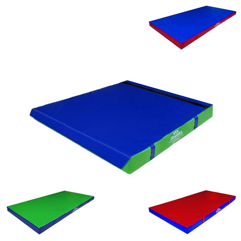 Купить Мат гимнастический 100x100x5см винилискожа-велькро (ппу) Dinamika ZSO-001260,