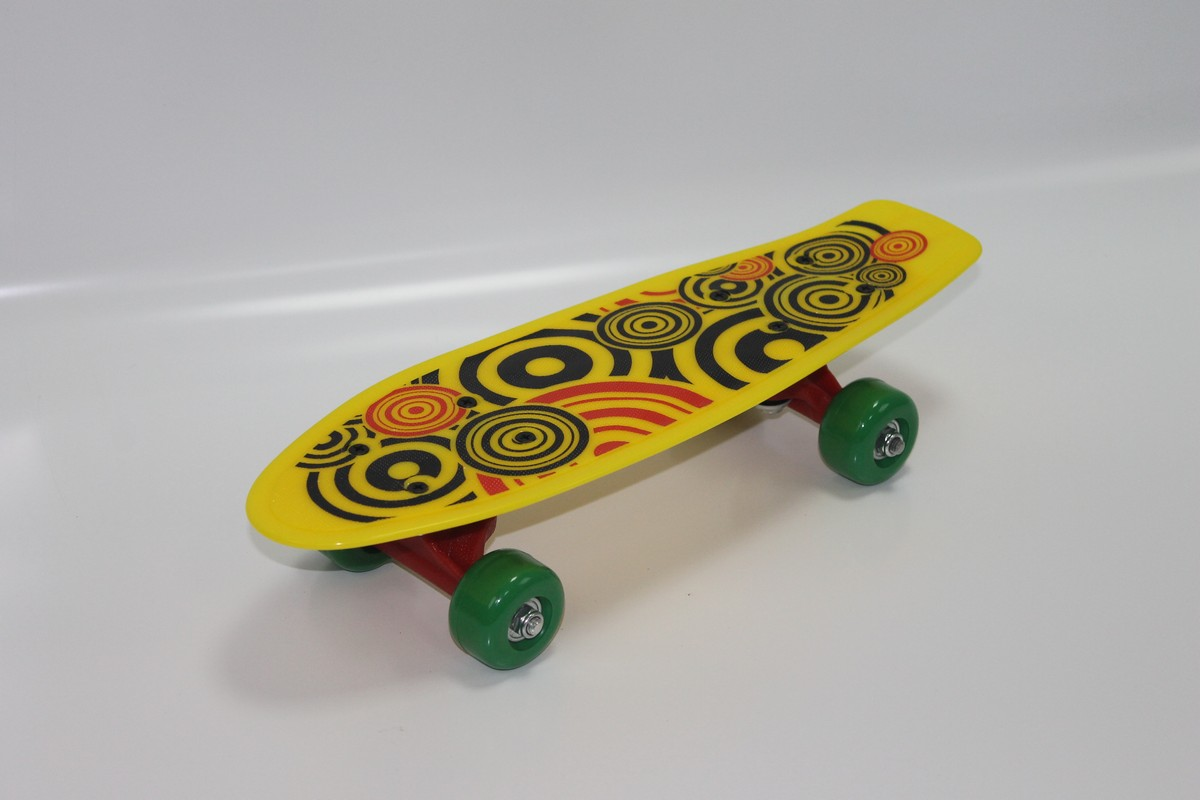 Мини-круизер RGX PNB-11 yellow скейтборд rgx small 2