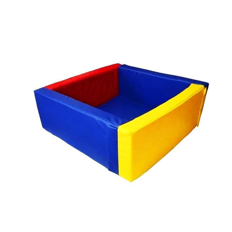 Купить Сухой бассейн квадратный 1500х1500х500х100 мм (наполнитель холлослеп/холлофайбер) Dinamika ZSO-003051, Сухие бассейны