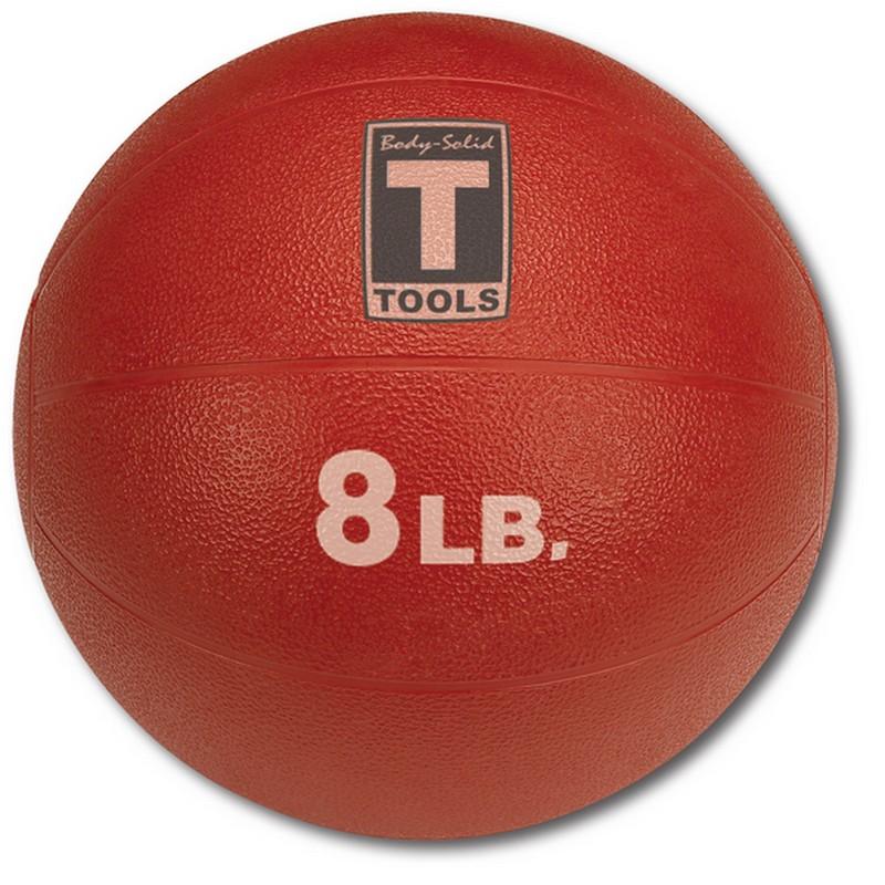 Медицинский мяч 3,60 кг Body Solid BSTMB8 красный