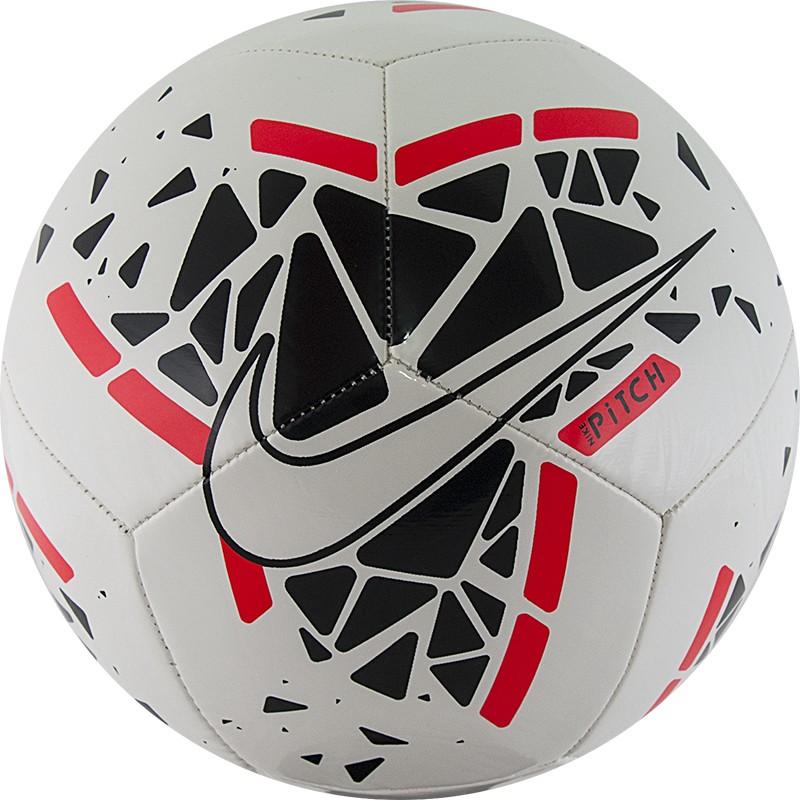 Купить Мяч футбольный Nike Pitch SC3807-102 р.5,