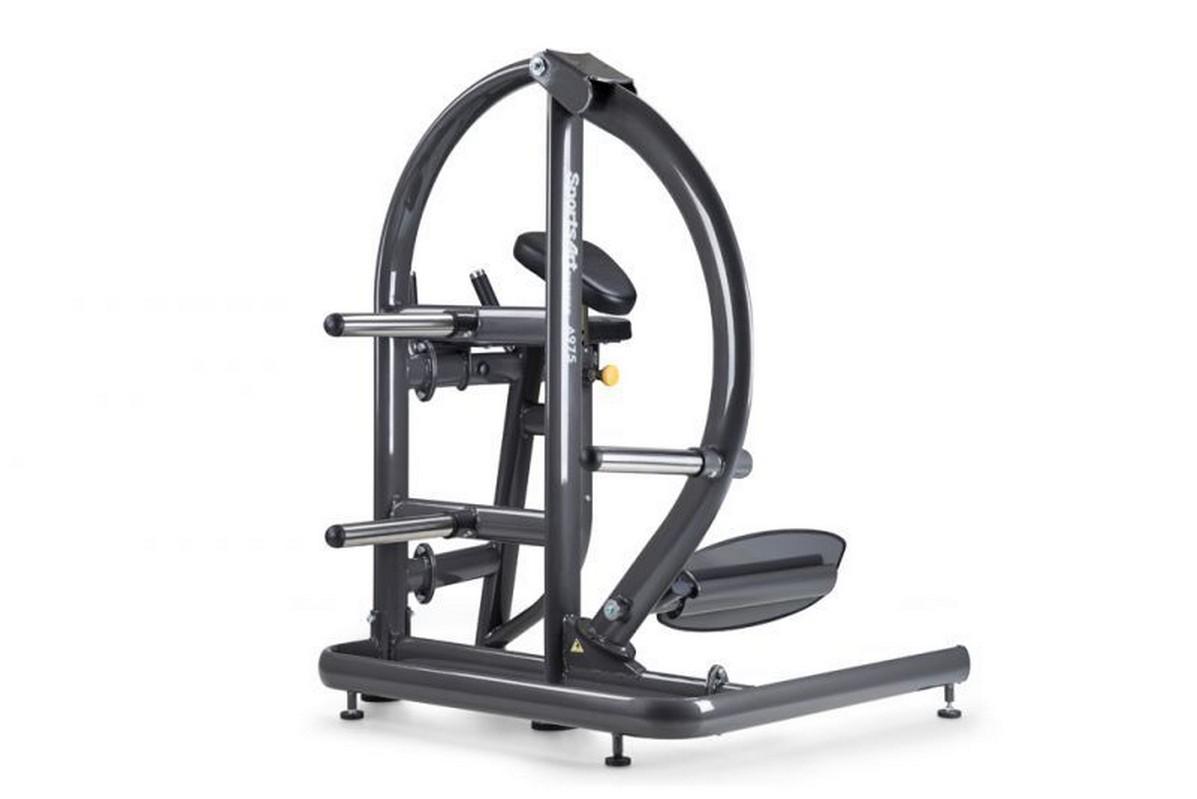 Тренажер для ягодичных мышц SportsArt радиальный A975 черное платье карандаш 46