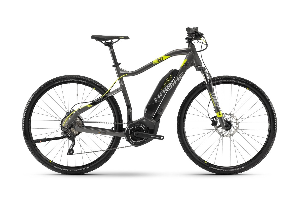 Электровелосипед HaiBike Sduro Cross 4.0 men 400Wh 10s Deore (2018)