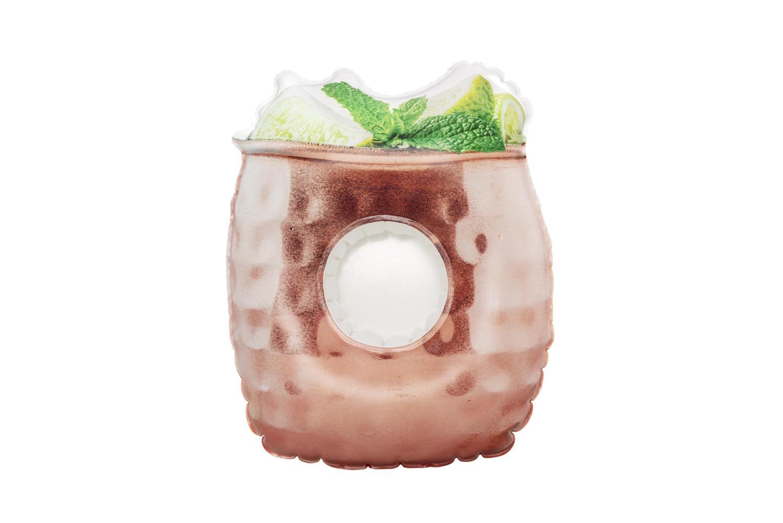 Купить Надувной плавающий держатель для напитков Bestway 28х23см Moscow Mule 34131,